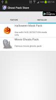 Screenshot of GhostCamEX Pack-Halloween Mask