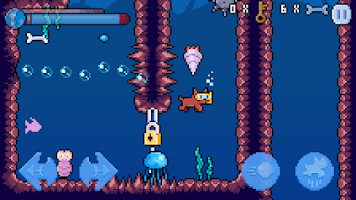 Screenshot of Subdog underwater adventure