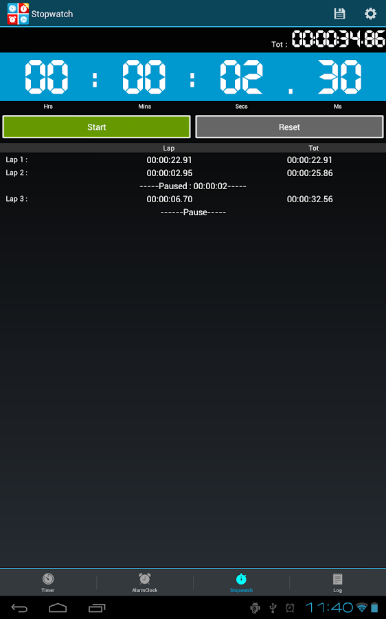 Timers4Me Timer&Stopwatch Pro Screenshot 9