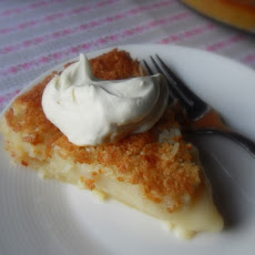 *Baked Coconut Custard*