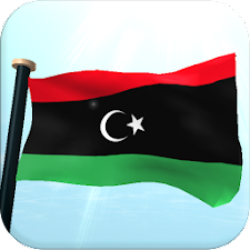 Libya Flag 3D Free Wallpaper