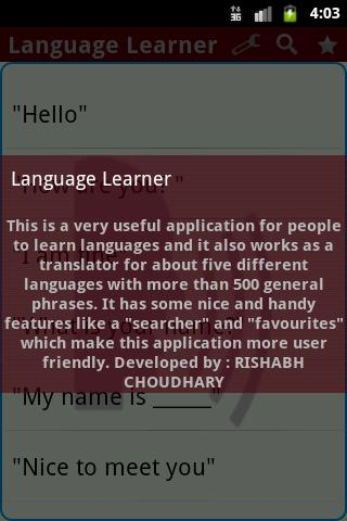 Language Learner