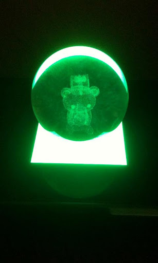 Crystal Stage Light