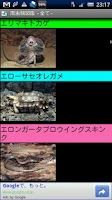 Screenshot of 爬虫類図鑑