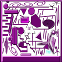 Purple Maze Theme icon