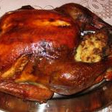 Holiday Turkey with Cornbread-Andouille Stuffing and Worcestershire Gravy