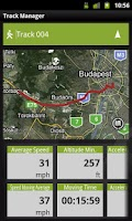 Screenshot of Outdoor Navigation