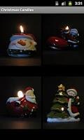 Screenshot of Free Christmas Candles