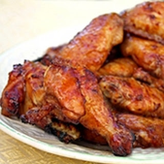 Thai BBQ Chicken Wings (Grilled or Baked)