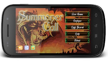 Screenshot of Summoner Call
