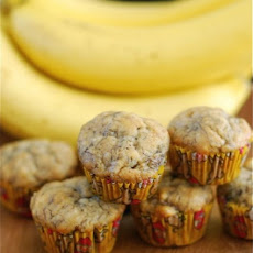 Mini Banana Bread Muffins