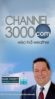 Screenshot of Channel 3000 WISC-TV3 Weather