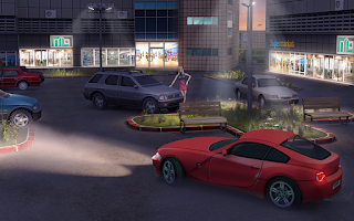 Screenshot of Skill 3D Parking Mall Madness