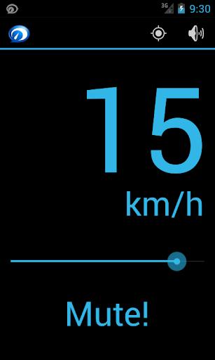 Speaking Speedometer