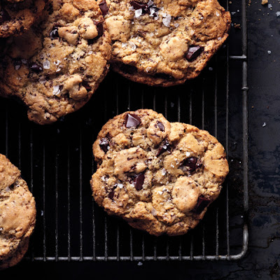 Salty Chocolate Chunk Cookies