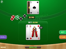 Screenshot of Blackjack