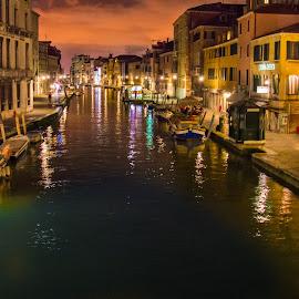Venice by Mihai Popa - City,  Street & Park  Street Scenes ( italia, venetia )