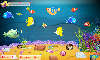 Screenshot of Flappy & Hungry Fish Pro II