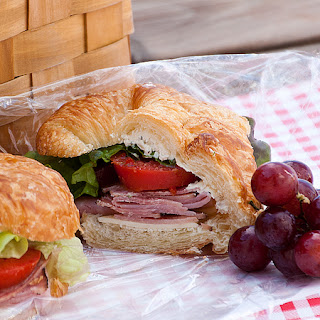 Ham and Cheese Picnic Sandwiches