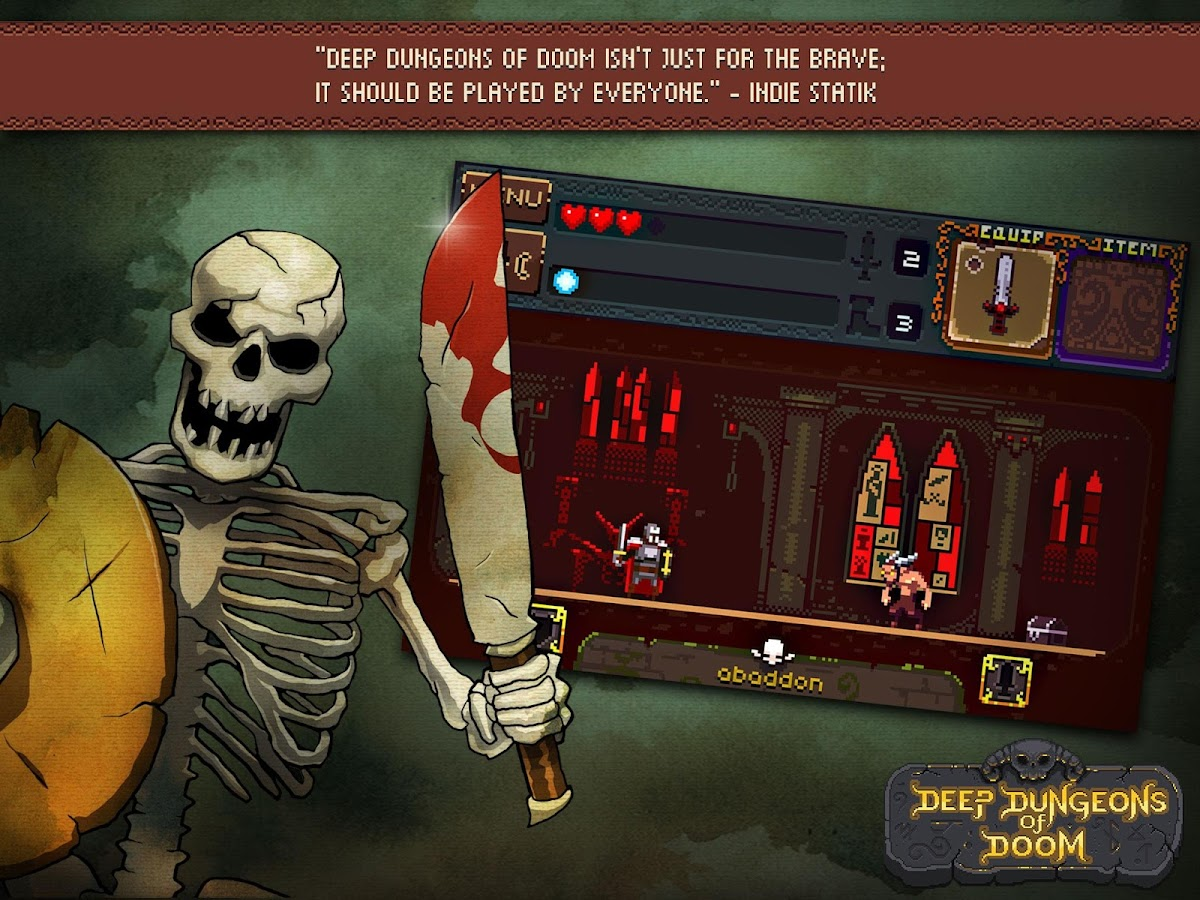 Deep Dungeons of Doom Screenshot 2