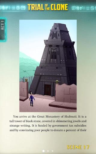Trial of the Clone - screenshot