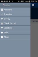 Screenshot of Bank of Labor Business Mobile