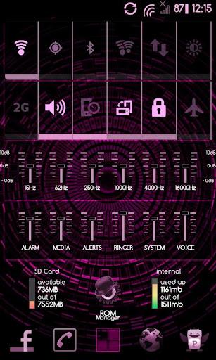 PinkGinger Theme CM7