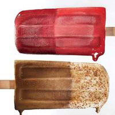 Cappuccino Ice Pop