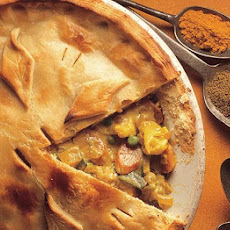 Curried Vegetable Pie