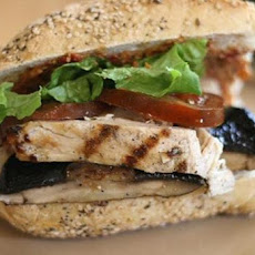 Grilled Tuscan Chicken Sandwiches
