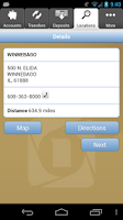 Screenshot of FNB Mobile Banking