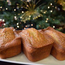 Poppy Seed Bread by Joseph Guyton - Food & Drink Plated Food