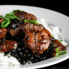 Stir-Fried Chicken in Black Bean Sauce