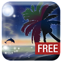 Galaxy Beach Wallpaper FREE icon