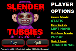 Screenshot of Slender Tubbies
