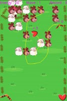 Screenshot of Sheep and Wolf Game Enter3