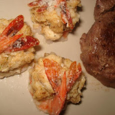 Crab Meat Stuffed Shrimp