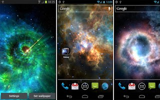 Screenshot of Galaxy Pack