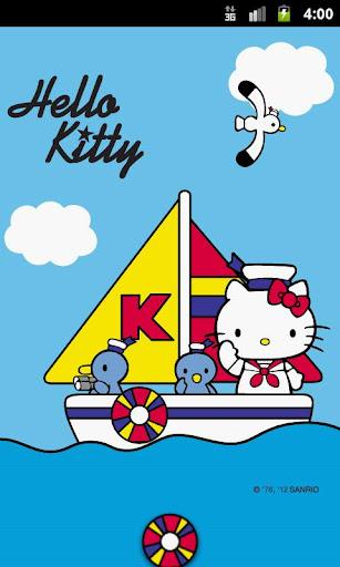 Hello Kitty Navy Sunday Theme