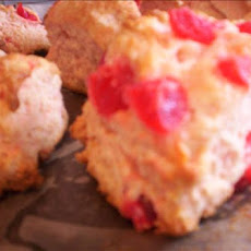 Dried Cherry Scones