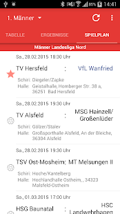 VfL Wanfried Handball - screenshot