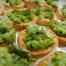 Cook the Book: Sweet Pea Crostini