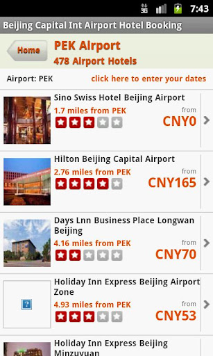 Hotels Near Beijing Airport