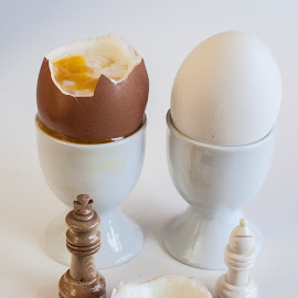 Soft Boiled Egg by Daniel Gorman - Food & Drink Plated Food ( ingredients, dinner, bird, chicken, eggs, breakfast, eat, chickens, lunch, egg, birds )