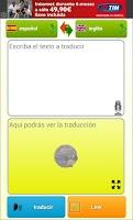 Screenshot of Interpreter- translator voice