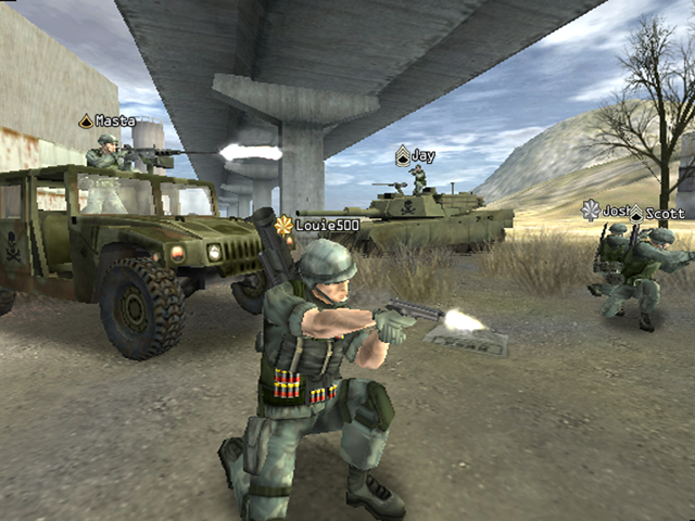 E3 2004: Battlefield: Modern Combat
