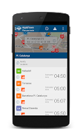 Screenshot of App&Town Public Transport
