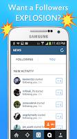 Screenshot of Get Followers BOOM