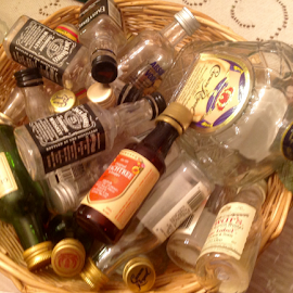 Basket of Booze by Terry Linton - Food & Drink Alcohol & Drinks (  )