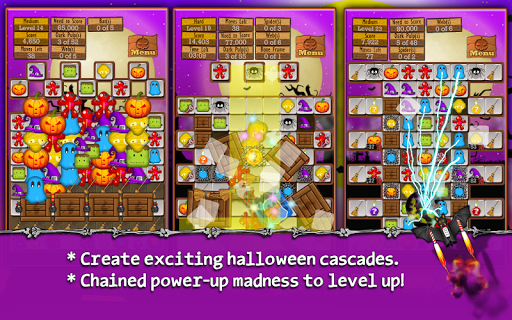 Halloween Drops - Match three - screenshot